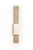 Ultra slim artisan wall sconce J'aimes Wall Light up & down lighter by Hannah Woodhouse