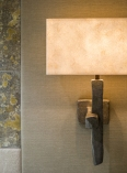 Stunning wall applique in bronze, by Hannah Woodhouse, for super yacht and residential lighting