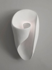M734 Plaster Wall Light by Hannah Woodhouse