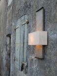 Nuit de Chine Wall Light (faux bronze) Side View by Hannah Woodhouse