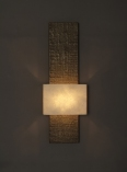 Tall Tony bronze wall light, architectural & designer wall light, by Hannah Woodhouse
